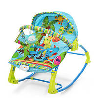 Детский шезлонг-качалка PK-306-4 синий