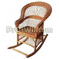 """Плетеная кресло-качалка """"Развернутая"""""""