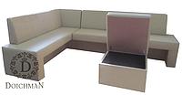 Угловой диван для кухни, обеденной зоны, столовой