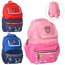 Рюкзак детский школьный 35-25-10см
