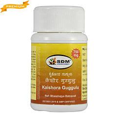 КайшораГуггул (Kaishora Guggulu DS, SDM) - аюрведа премиум качества, 40 таблеток