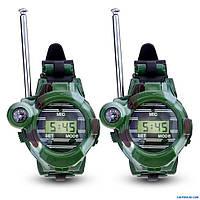 7 в 1 радиостанции, часы, компас, объектив, фонарь, отражатель, секретные капсулы комплект, фото 1