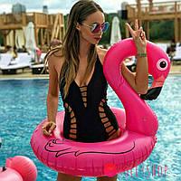 """Надувной круг """"Фламинго"""" 90см"""