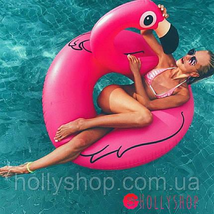 "Надувной круг ""Фламинго"" 120см, фото 2"
