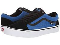 Кроссовки/Кеды Vans Old Skool Pro (Rowan Zorilla) Black/Blue Croc
