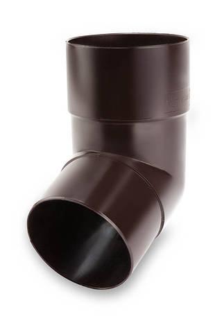 Koлено выливное под кронштэйн 67° 100 мм ПВХ Galeco PVC 130
