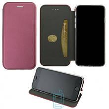 Чехол-книжка Elite Case Samsung S10E G970 бордовый