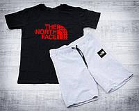 Мужской летний спортивный костюм, спортивний костюм The North Face, Реплика (комбинированный)
