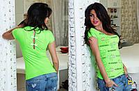 """Женская стильная футболка 1000 """"Burberry Бантики"""" в расцветках"""