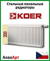 Радиатор стальной Koer 22k 300*400 боковое подключение