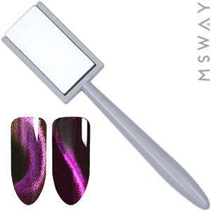 Магнит 29 501 прямоугольный с ручкой Cat Eye, фото 2