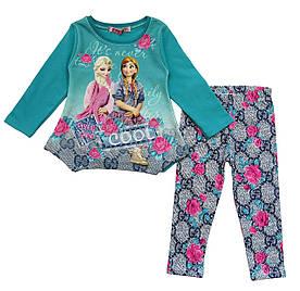 Утепленный костюм Frozen для девочки. 92 см
