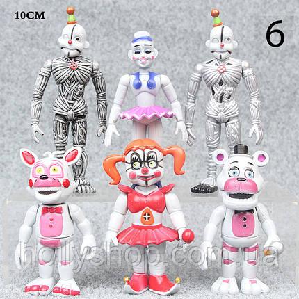 Набір фігурок 5 ночей з Фредді. sisters location, фото 2