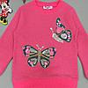 """Утепленный костюм """"Бабочки"""" для девочки. 116 см, фото 3"""
