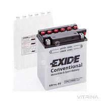 Аккумулятор EXIDE 14Ah-12v EB14L-B2 (134х89х166) | R, EN145 (Европа)