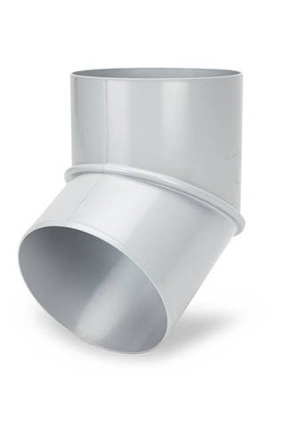 Koлено 60° 125 мм ПВХ Galeco PVC 180