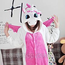 Пижама кигуруми Футужама Единорог бело - розовый, фото 3