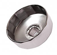 Съемник масляного фильтра, 75,5 мм, 12 граней, Ford 2,0 TDCI, Smart, JTC 4452