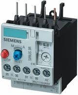 Тепловое реле Siemens 3RU1116-0HB0 Реле перегрузки, 0.55.. 0.8 a, 1нo+1 нормально замкнутых контакта, тип s00