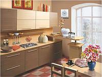 Кухня - фасад ламинированный МДФ гладкий