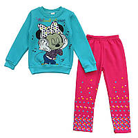 Теплый костюм Minnie Mouse для девочки. 116 см