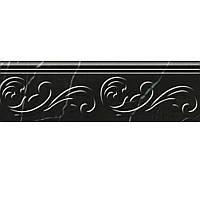 Плитка Golden Tile Absolute Modern черный фриз Г2С361 30x9