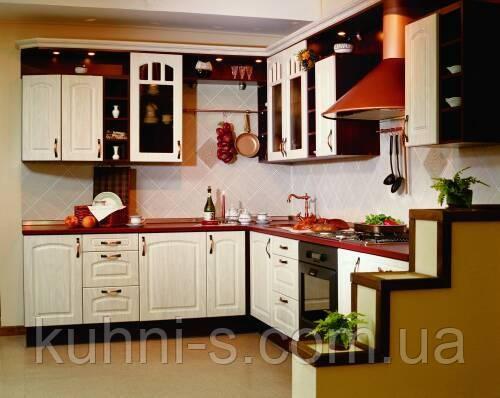 Кухни - фасад МДФ ламинированный - фрезерованный