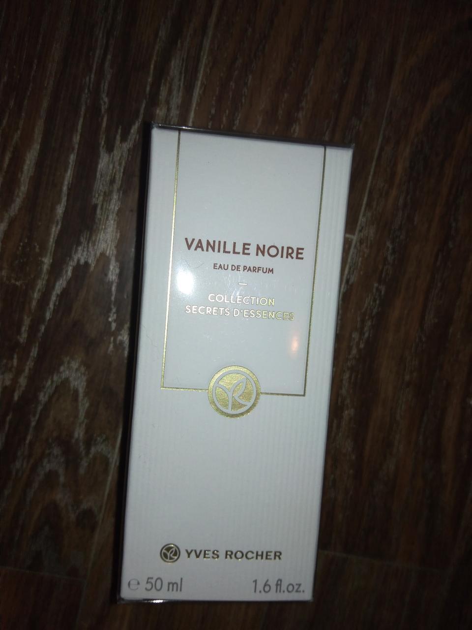 Парфюмированная Вода Vanille Noire черная ваниль духи ив роше 50мл  оригинал франция запаяна