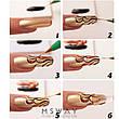 Кисть для рисования KATTi вензель (цветные тонкие ручки) оранж 7мм, фото 4