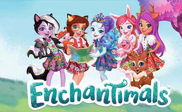 Ляльки Enchantimals