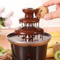 Шоколадный фонтан Chocolate Fountain - набор для фондю