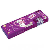 """Пенал школьный 2 отделения для девочки Cool For School CFS85513 """"Sweet Kitten"""""""
