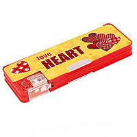 """Пенал школьный CFS85521 """"Love Heart"""""""