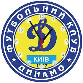 """Детские настенные часы """"Мяч Динамо"""" МДФ"""