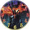 "настенные часы МДФ ""Batman"" круглые"