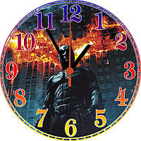 """настенные часы МДФ """"Batman"""" круглые, фото 1"""