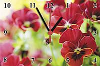 """Настенные часы МДФ   кварцевые """"Орхидея"""", фото 1"""