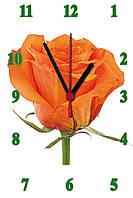"""Настенные часы МДФ   кварцевые """"Аленький цветочек"""", фото 1"""