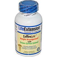 Африканский манго зеленый кофе Life Extension 100 мг 90 капсул