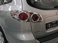 Накладки на задние фонари HYUNDAI SANTA-FE 06-10 г.в.