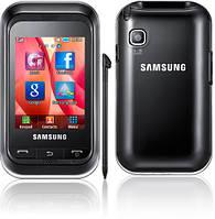 Корпус для Samsung C3300, черный, оригинал