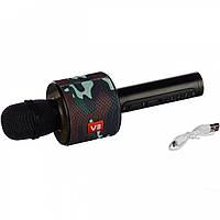 Bluetooth микрофон Karaoke V8 Камуфляж чехол, фото 1