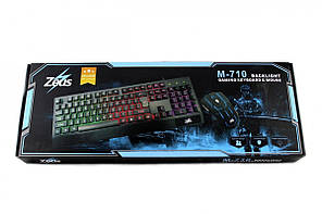 Клавиатура Led Gaming Keyboard Мышь Mouse M-710, фото 2