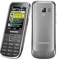 Корпус для Samsung C3530, с клавиатурой, черный, оригинал