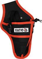 Кобура поясная для дрели, шуруповерта с регулировкой объема YATO , фото 1