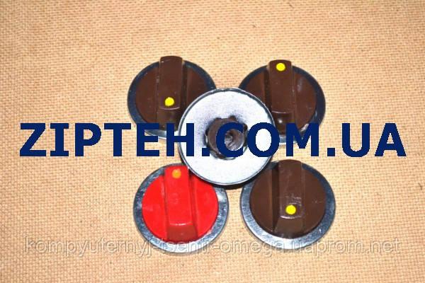 Комплект ручек регулировки для газовой плиты универсальный (5шт.)