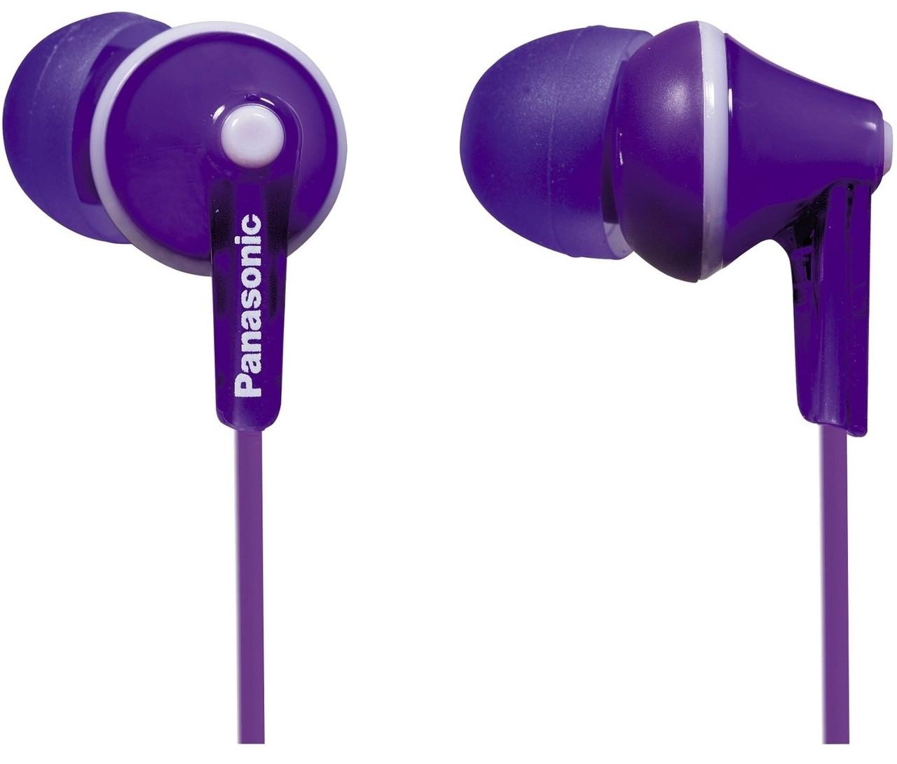 Наушники Panasonic RP-HJE125E-V Фиолетовые
