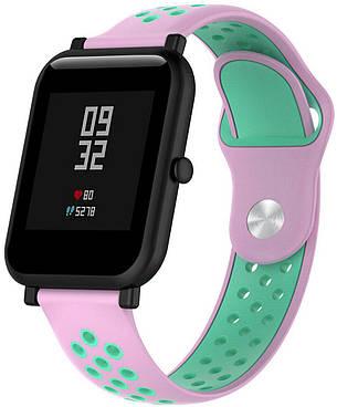 Ремешок спортивный Smart Band для AmazFit Bip Силикон Розовый (459588), фото 2