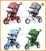 Детский трехколесный велосипед с ручкой | TILLY ZOO-TRIKE