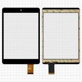 """Сенсорний екран для планшету Tablet PC 7.85"""" Ainol Novo 8 Mini; Assistant AP-785, тачскрін чорний,197x132mm, 40pin"""